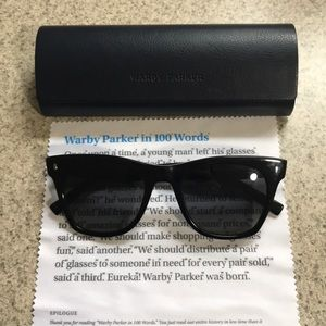 "Warby Parker ""Hunt Wide"" Sunglasses"